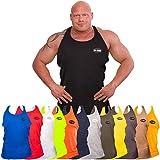 C.P.Sports Olympian Tank-Top S6 - Farbe: Blau Gr.XL, Bodybuilding & Kraftsport + Trainings T-Shirt