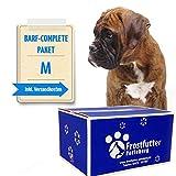 Frostfutter Perleberg 10Kg Barf-Complete-Paket (M) für mittelgroße Hunde - Servierfertige Komplett-Menüs in Vier leckeren Geschmacksrichtungen