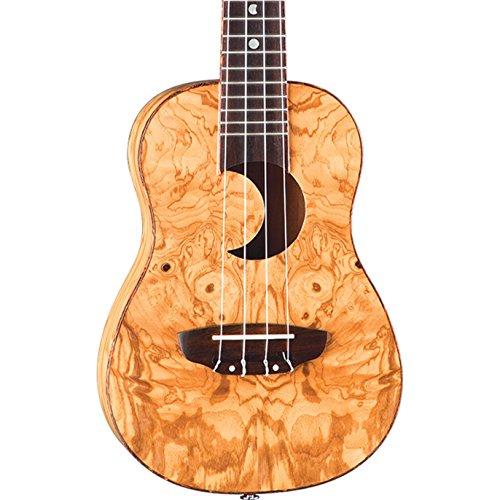Luna Guitars UKE EX OA - Ukulele da concerto, colore: Exotic Olive Ash Burl