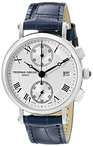 Frederique Constant Classics FC291MC2R6 34mm Stainless Steel Case Black Calfskin Anti-Reflective Sapphire Men's Watch