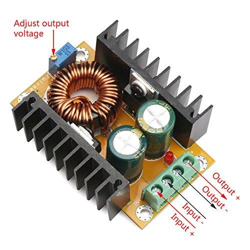 DROK® DC-DC Boost Converter Power Adapter 12V/24V 10-32V to 36-60V