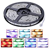 Auralum® 5M RGB IP65 Wasserdicht Flexible LED Streifen Strip Band Leiste SMD 5050*300 Leds 12V 72W 4500LM
