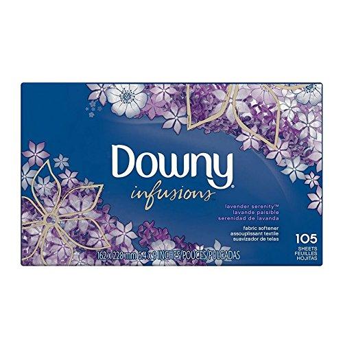 downy-ultra-infusions-sheet-fabric-softener-lavender-serenity-trocknertucher-105-stuck