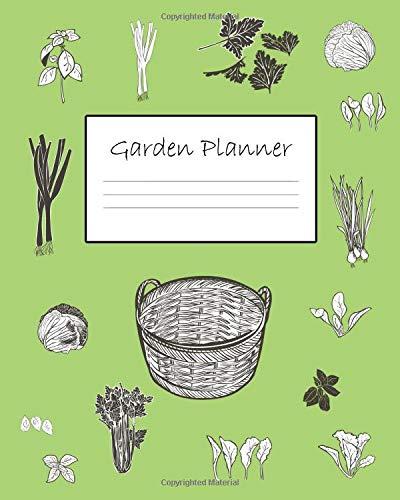 Paged Large Garden Organizer / Log Book 8