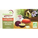 Moulin des Moines Infusion Plantes et Fruits Mangue Passion 30 g BIO - Lot de 4