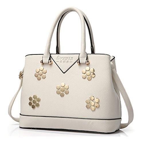 Keshi Pu neuer Stil Damen Handtaschen, Hobo-Bags, Schultertaschen, Beutel, Beuteltaschen, Trend-Bags, Velours, Veloursleder, Wildleder, Tasche Beige