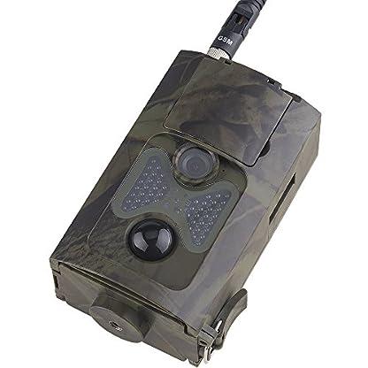 zhenyjab HC-550G Hunting Camera Wild Trap Infrared HD 16MP SMS MMS SMTP GPRS 3G 120 Degrees Hunter Game Trail Forest Wildlife Camera