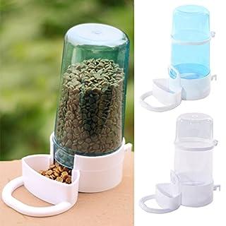 GEZICHTA Hamster Wasserbrunnen Trinknapf Automatisches Fütterungsgerät Igel Feeder Hamster Feeder Kaninchen Futterautomat Futterbox wie abgebildet