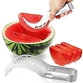 Ubegood Wassermelone Slicer ist ein Küchengerät Sie gehen zu lieben! eine elegante Obstschale zu machen war noch nie so einfach! Sie werden ab sofort eine perfekte Frucht Plattenhersteller zu werden! Features: ♥ Spezielle Design- praktisch für Schnei...