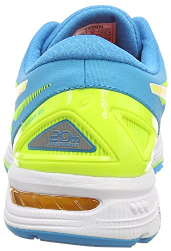 ASICS Gel-DS Trainer 20, Chaussures de Running Entrainement Homme Jaune (Flash Yellow/Hot Orange/Turquoise 0730)