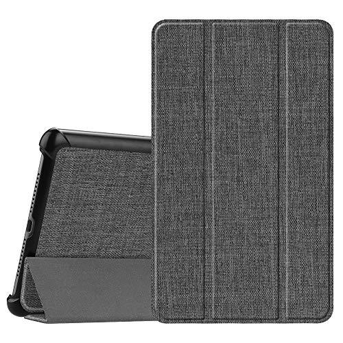 Fintie Hülle Case für Huawei Mediapad M5 8 Tablet - Ultra Dünn Superleicht SlimShell Ständer Case Cover Schutzhülle Auto Sleep/Wake Funktion für 8,4 Zoll Huawei MediaPad M5 21,34 cm, Denim dunkelgrau