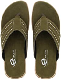 cf4c802f22102 Emosis Men s Stylish 307 Tan Brown Black Colour Casual Ethnic Formal Office  Slide Slipper Cum Sandal
