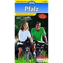 ADFC-Regionalkarte Pfalz mit Tagestouren-Vorschlägen, 1:75.000: Mit Pfälzerwald und Deutscher Weinstraße (ADFC-Regionalkarte 1:75000)