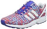 adidas Originals ZX Flux Weave B34473, Herren Low-Top Sneaker, Mehrfarbig (Night Flash S15/Ftwr White/Core Black), EU 44 2/3