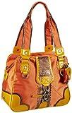 Sansibar Candy - Bolso de mano de material sintético mujer, color naranja, talla 35x28x15 cm (B x H x T)