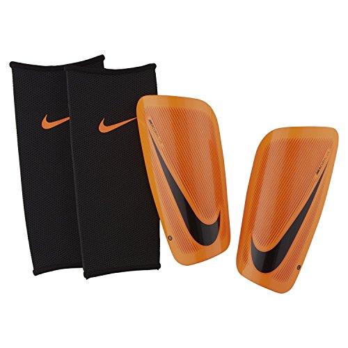 Nike Herren Mercurial Lite Schienbeinschoner, Total Orange/Hyper C rimson/Black, Gr. L