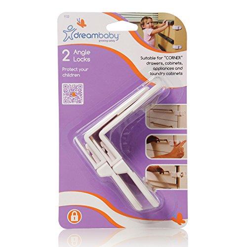 Dreambaby Angle Lock 2 Pack by Dreambaby