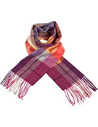 Edinburgh 100% Lambswool Scottish Tartan Multicolour Scarf