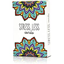 Stress Less Cards - Effective self help for anxiety relief and relaxation with Mindfulness meditation exercises - Natural insomnia & sleep aid