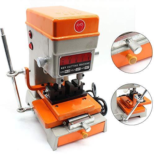 220W Máquina para el duplicado de llaves Cerrajeria Máquina cortadora de llaves, Maquina de copia del corte de llave