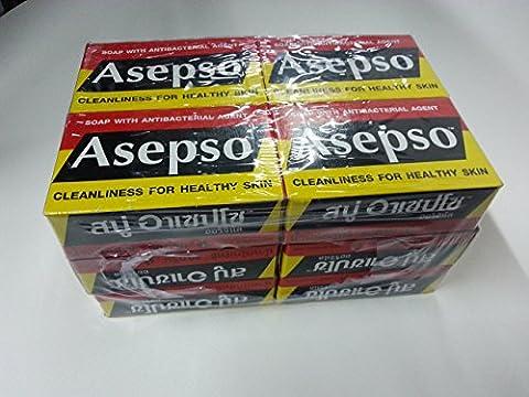 ASEPSO antibakteriell Agent Seife 80G. (12Stück)