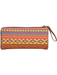 All Things Sundar Women's Wallet (Multi-Coloured, W03-72)