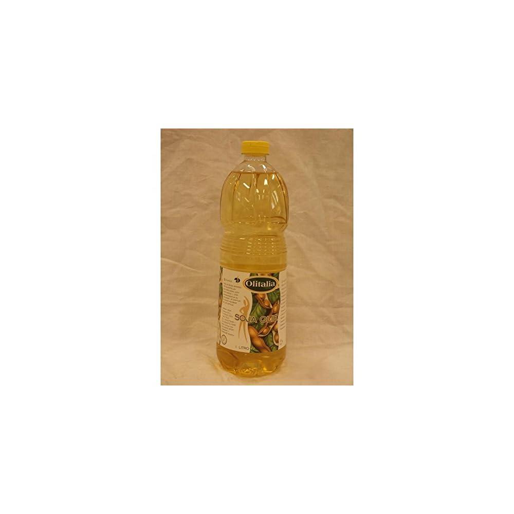 Olitalia Soja Olie 1000ml Flasche Sojal