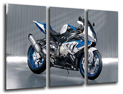 Quadro su Legno, Moto BMW, Motore, 97 x 62cm, Stampa in qualita Fotografica. Ref. 26076