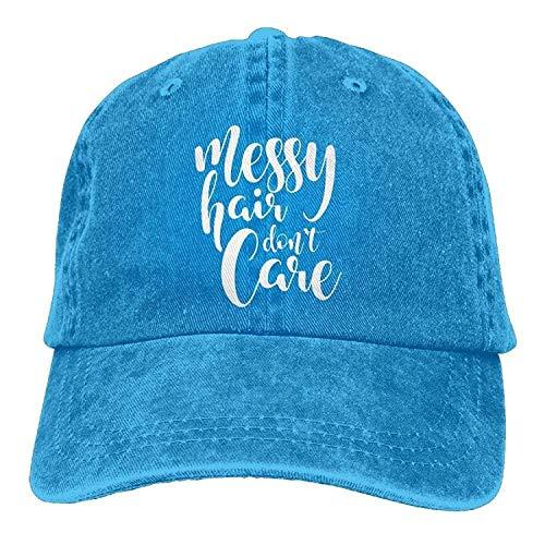 bdc6161d34805 uykjuykj Baseball Caps Hats Funny Bag Baseball Cap Messy Hair Don t Care-1