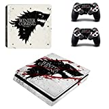 Playstation 4 Slim + 2 Controller Aufkleber Schutzfolien Set - Game of Thrones (5) /PS4 S