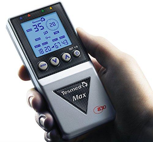 elettrostimolatore muscolare professionale Tesmed MAX 830 con 20 elettrodi : massima potenza,...
