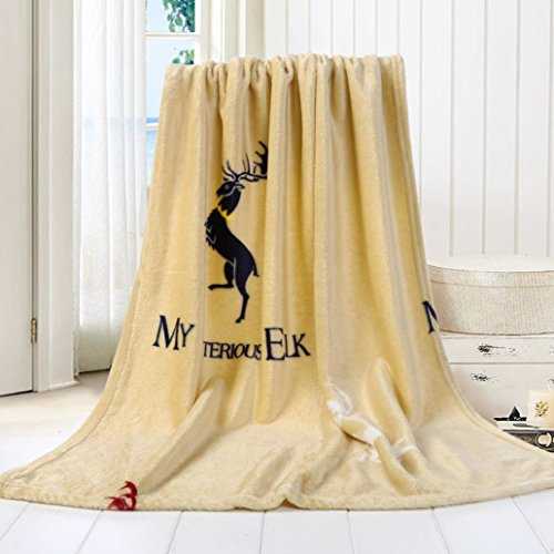wanshop® Super Weiches Warmes massiv Warm Micro Plüsch Fleece Decke/Überwurf Teppich Sofa Bettwäsche Mikrofaser massiv Kinder Decke Bettwäsche Quilt Play Decke, e, 70*100cm (Plaid Teal Flanell)