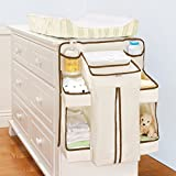 The Munchkin Nappy Change Organiser keeps nappies, wipes and accessories organised and handy, it easily attaches to cots, dressers, changing tables, walls or doors. A handy nappy dispenser provides easy-access without nappies falling out, includes 8 ...