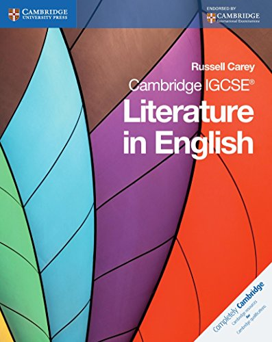 Cambridge IGCSE. Literature in english. Coursebook. Per le Scuole superiori. Con espansione online (Cambridge International IGCSE)
