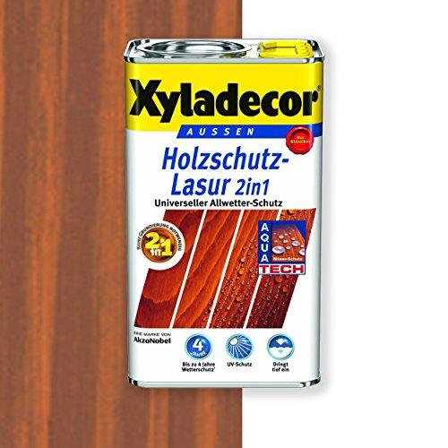 Xyladecor Holzschutz-Lasur 2in1 (5 l, teak)