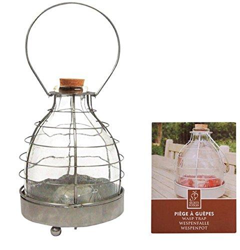 Esschert Design Insektenfalle, Glas-Metall, W2021