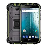Ulefone Armor 2S Android Smartphone, 5,0 Zoll FHD-Bildschirm Android 7,0 Quad-Core 4G Telefon w/RAM 2 GB ROM 16 GB Speicher und Dual-Sim-Karte Standby (Green)