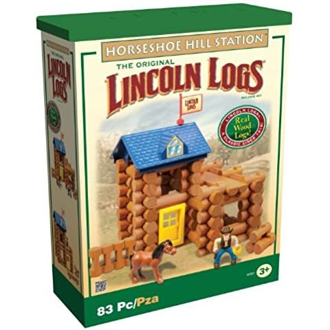 Lincoln Log Horseshoe Hill Station by Lincoln Logs