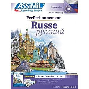 Superpack Usb Perfectionnement Russe (livre+4Cd audio+1clé USB)