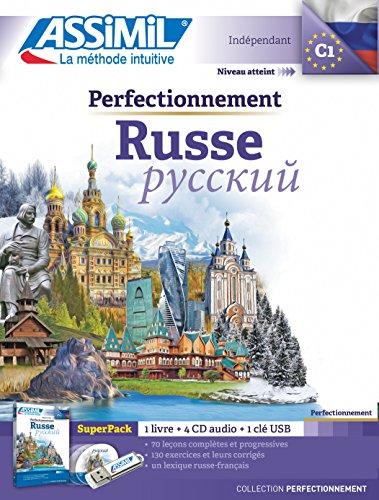 Superpack Usb Perfectionnement Russe (livre+4Cd audio+1cl -