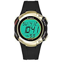 Bangle009 Big Promotion Sports Men Alarm Chronograph Date Waterproof Luminous Digital Wrist Watch Gift