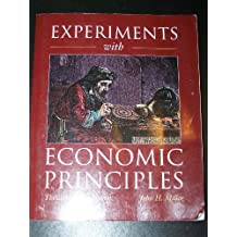 Experiments with Economic Principles by Theodore C. Bergstrom (1996-09-05)
