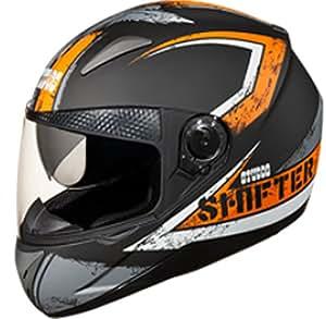 Studds Shifter D1 N5 Series Full Face Helmet ( Matt Black ) (Large - 57 - 58 Cmss, Mirror Visor)