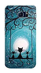HACHI Premium Printed Cool Case Mobile Cover for Samsung Galaxy S6 Edge Plus