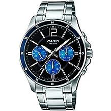 Casio Enticer Analog Black Dial Men's Watch - MTP-1374D-2AVDF (A950)
