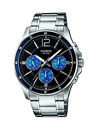 casio enticer analog black dial men's watch - mtp-1374d-2avdf(a950) Casio Enticer Analog Black Dial Men's Watch – MTP-1374D-2AVDF(A950) 51fsm8l8rTL