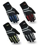 FDX Cycling Gloves Windproof Gel Padd...