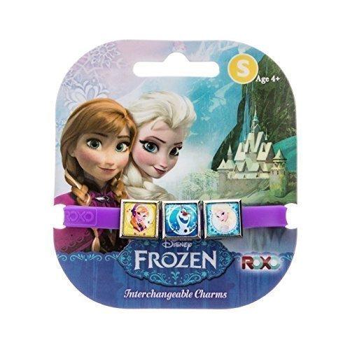 Disney gefroren: 3 Charms Roxo Band (Klein, Lila, Olaf, Anna und Elsa) [Spielzeug]