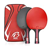 Weeygo Mixte Adult Tennis de Table Rouge S