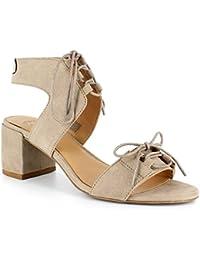 32e9ac57b76 Dolce by Mojo Moxy Effort Women s Heel Sandals Black